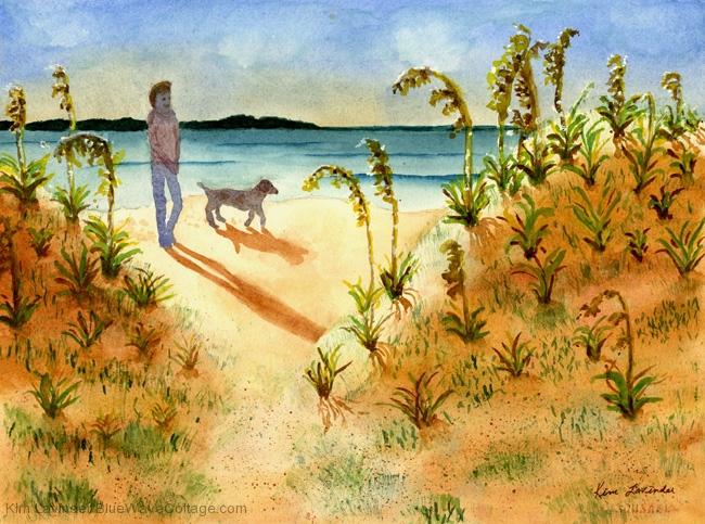 Beach Strollin' Buddies