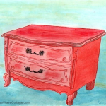 The Red Dresser